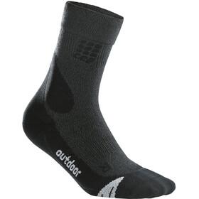 cep Dynamic+ Outdoor Chaussettes Mi-hautes Mérinos Homme, grey/black